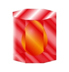 Red Emerald vector image