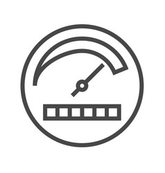 Productivity thin line icon vector