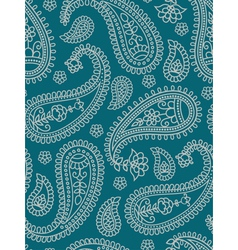 Indian pattern with paisley vector