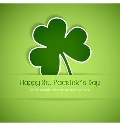 Happy st patricks vector