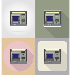 business and finance flat icons 05 vector image vector image