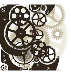 Cog wheels seamless vector