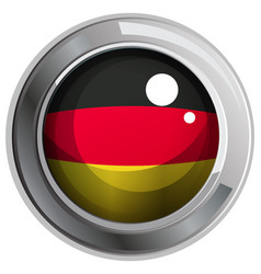 Icon design for flag of germany vector