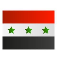 iraq flag vector image vector image
