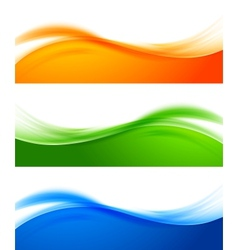 Set of colorful banners vector image vector image