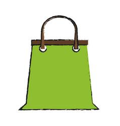 supermarket shopping bag vector image