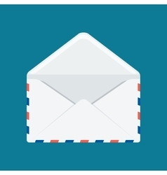 White envelope image vector