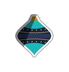 christmas decorative symbol vector image vector image