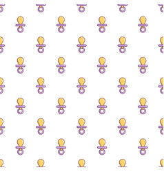 Nipple baby pattern seamless vector