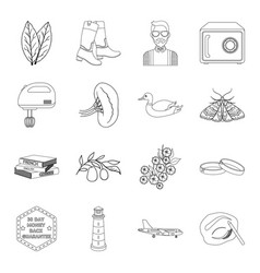 Cooking medicine education and other web icon in vector