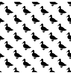 Duck pattern seamless vector