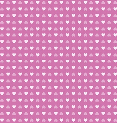 Heart shape love valentines day seamless pattern vector image