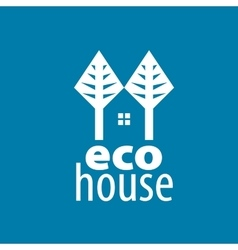 Logo house vector