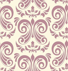 Damask seamless pattern vector