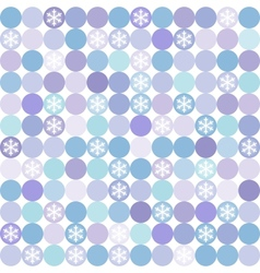 Seamless winter modern colorful pattern vector
