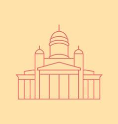 Helsinki vector image