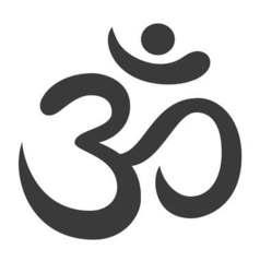 Aum Om Ohm symbol vector image vector image