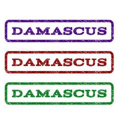 Damascus watermark stamp vector
