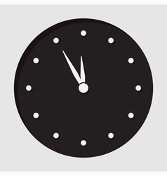 Information icon last minute clock vector