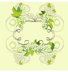 stylized frame vector image vector image