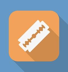 Razor blade icon symbol vector