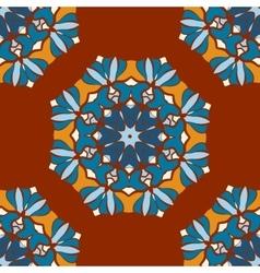 Beautiful indian geometric seamless ornament print vector