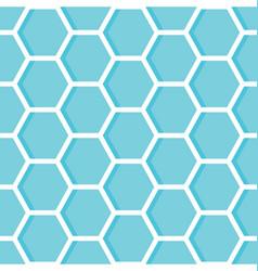 hexagons geometric design background vector image vector image