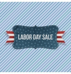 Labor day sale national emblem vector