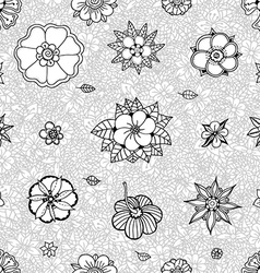Plant Patterned Background vector image vector image