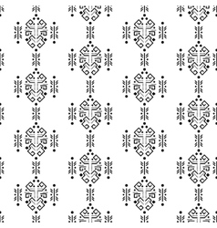 Mayan style ornament seamless pattern vector