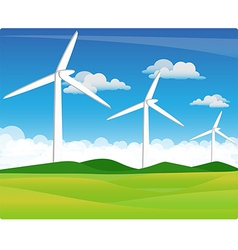 Wind turbine vector