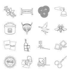 Art alcohol cooking and other web icon in vector