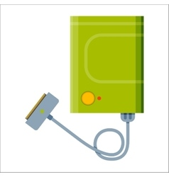 Battery power bank energy electricity tool vector