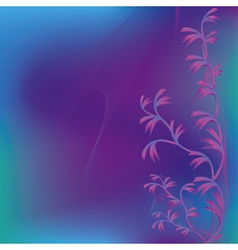 Abstract violet green background with decorative vector