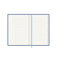 Address phone book with alphabet organiser vector