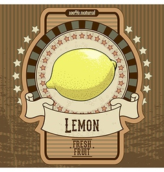 Fruit label vector