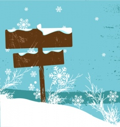 winter design vector image