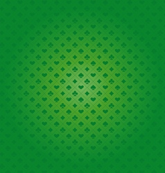 Background with card suits vector image