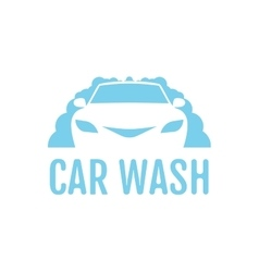 Car wash logo design layout Corporate vector image