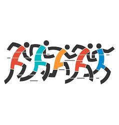 Running race vector