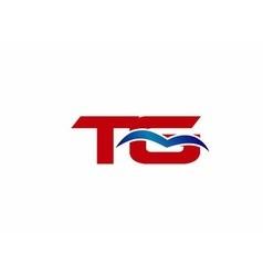 Tg letter logo vector