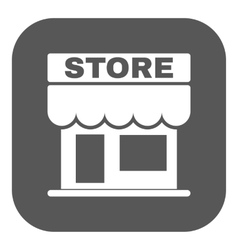 The store icon Shop and retail market symbol vector image