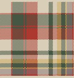 Burlap tartan fabric texture check seamless vector