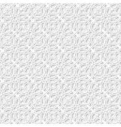 Seamless pattern with traditional ornament vector