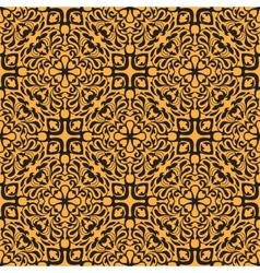 Orange seamless pattern vector