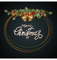 Christmas design dark vector