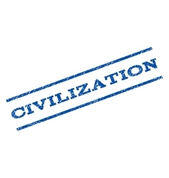 Civilization watermark stamp vector