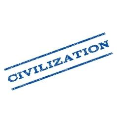 Civilization Watermark Stamp vector image vector image