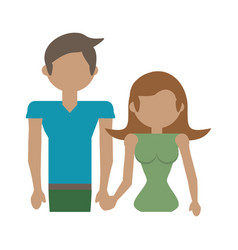 couple family parents image vector image
