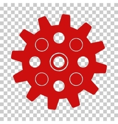 Gearwheel icon vector